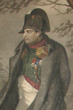 Detail Portrait of Napoleon by Charlet - outstanding.....
