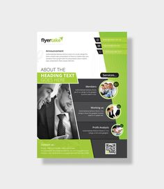 Aeolus Stylish Corporate Flyer Template 000980