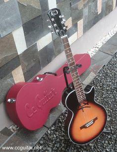 Calligraphy guitar. www.ccguitar.net