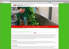 Proveg AG Erstellung Website und Fotoshooting  Die Firma proveg ag in Ried bei Kerzers verarbeitet und vermarktet Frischgemüse und ist Schnittstelle zwischen Produzenten und dem Detailhandel. Der Name steht für PROduzenten VErmarkter Gemüse. In Zusammenarbeit mit dem Kunden durften wir eine neue reaktionsfähige Website erstellen und mit einem Fotoshooting den Betrieb, die Mitarbeiter und die Leistungen visuell dokumentieren.   http://proveg.ch/