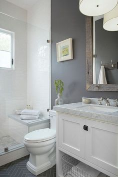 This Is How To Remodel Your Small Bathroom Efficiently, Inexpensively #smallbathroomremodeling
