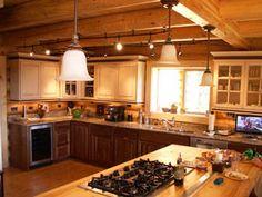 Awesome kitchens ala Lazarus Log Homes