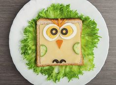 Find Design Food Creative Sandwich Child Picture stock images in HD and millions of other royalty-free stock photos, illustrations and vectors in the Shutterstock collection. Healthy Meals For Kids, Kids Meals, Menu Rapido, Vegetable Decoration, Sandwiches, Kids Plates, Mini Foods, Kids Nutrition, Kid Friendly Meals