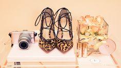 Leopard print heels. @thecoveteur