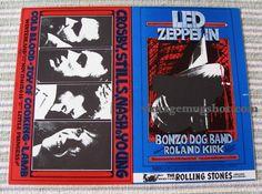 Led Zeppelin Original L Fillmore Winterland by SherwoodsTreasures