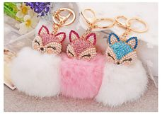 Gift-Cute-Fox-8cm-Big-Size-Genuine-Rabbit-Fur-Ball-font-b-Plush-b-font-Keychain.jpg (768×526)