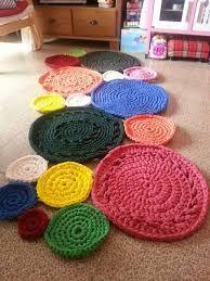 Resultado de imagem para alfombra crochet redonda