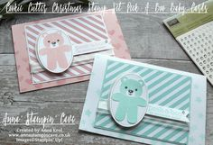 Anna' Stampin' Cave –The Creative Flow Blog Hop – Cookie Cutter Peek-A-Boo Baby Cards Thank you for joining us on our Creative Flow Blog Hop. Each month we are set a challe…