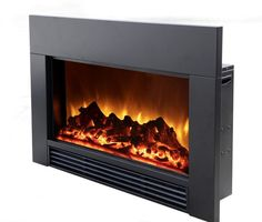 "Electric Fireplace And Surround | 30"" Insert"