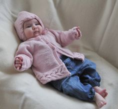 babykofta, babymössa teetee ilmainen ohje www.tekstiiliteollisuus.fi