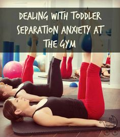 Getting back into a regular routine can be hard after a pregnancy, but what's worse? The separation anxiety! | Fit Bottomed Mamas
