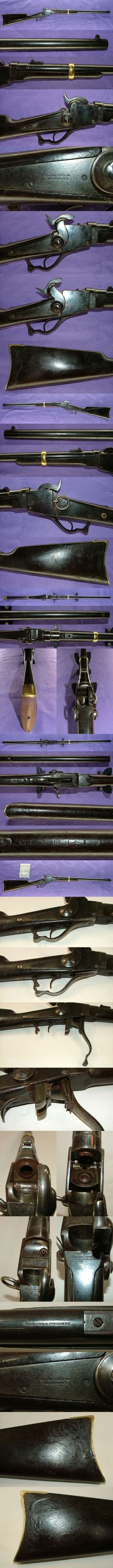 Starr carbine (U.S.), used by samurai during the late edo period.