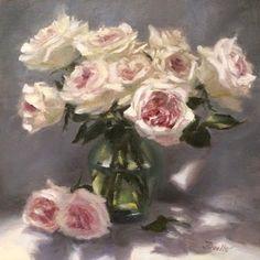 Pat Fiorello - Art Elevates Life , 16 x 16 oil painting, www.patfiorello.com
