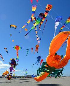 Kite Festival, Long Beach, Washington