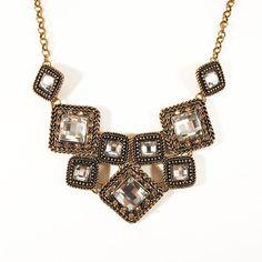 #fashion #maxicolar #necklace #geometric #acessorios