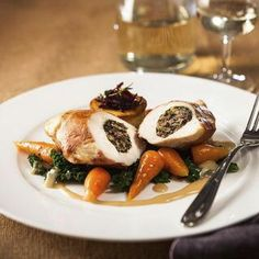 Balmoral Chicken, a delicious recipe from the new Cook with M&S app.