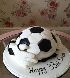 football gloves cake swansea