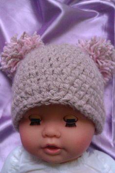 POM POM Mütze für Babyfotographie