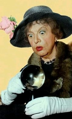 Aunt Clara, Bewitched (she reminded me of my great Aunt Norma including her voice.)