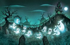 Nate Wragg Art and Illustration: At the Old Haunted House