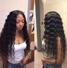 High Quality Virgin Human Hair Glueless Full Lace Wigs Deep Wave Brazilian Lace Front Human Hair Wigs For Black Women Remy Human Hair, Remy Hair, Human Hair Wigs, Lace Front Wigs, Lace Wigs, Curly Hair Styles, Natural Hair Styles, Hair Laid, Weave Hairstyles