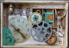 Junk Drawer Series 2 - Kathy Moore Assemblage Artist