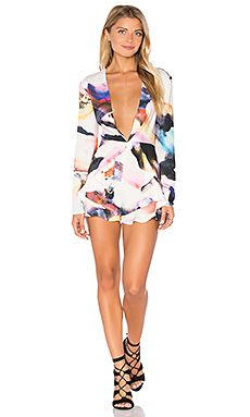 Flutter Long Sleeve Romper