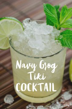 With three different types of #rum this tasty #tiki #cocktail packs a punch. Try it out so you can feel like you're sipping on vacation at any time.