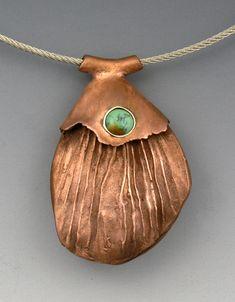 Jewelry | Jewellery | ジュエリー | Bijoux | Gioielli | Joyas | Art | Arte | Création Artistique | Precious Metals | Jewels | Settings | Textures | Hadar Jacobson's copper