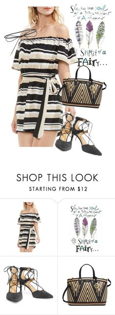 """""""dress"""" by masayuki4499 ❤ liked on Polyvore featuring Vince Camuto, Sam Edelman, Henri Bendel and Elizabeth and James"""