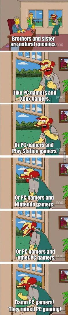 The gaming war.