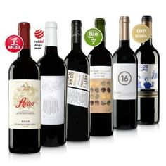 Selection of Spanish Wines.