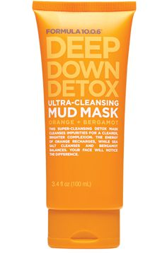 Formula 10.0.6 | Deep Down Detox | Ultra-Cleansing Mud Mask | Orange + Bergamot