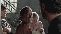 baby judith walking dead | ... with Daryl and Carol in prison, with baby Judith, Beth and Rick