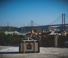 TOSCA pinhole camera with a view of
