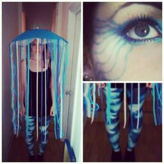 Fancy dress, jellyfish, under the sea costume