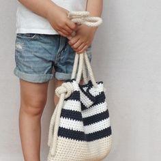 Bryce Crochet Bag crochet pattern - Allcrochetpatterns.net