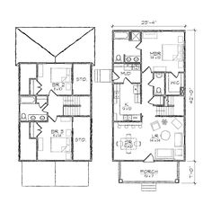 24 x 36 floor plans nominal size 24 x 52 actual size for The ansley floor plan