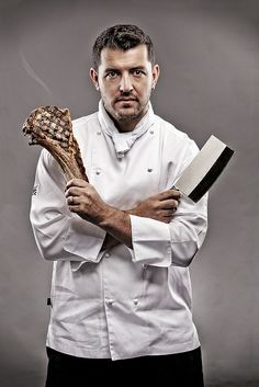 Magazine Shoot of Three Executive Chefs - Inside Portrait 2 by Daniel Hopper Photography, via Flickr