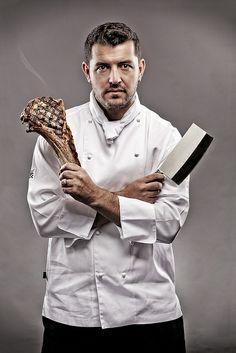 Magazine Shoot of Three Executive Chefs - Inside Portrait 2 by Daniel Hopper Photography, via Flickr