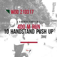 #training #wod #crossfitvoiron #crossfit #voiron #run #handstandpushups