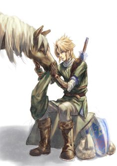 /Twilight Link/#1123750 - Zerochan | The Legend of Zelda: Twilight Princess, Link and Epona