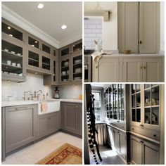 6 Ways to Spruce Up Your Kitchen Cabinets Kitchen Display, Kitchen Storage, Kitchen Decor, Display Cabinets, Dark Accent Walls, White Walls, Wooden Cabinets, Dark Cabinets, Retro Appliances