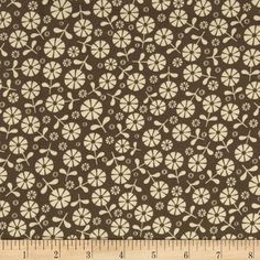 """Free Spirit Fabrics' Loft - Brown By Jenean Morrison Collection : In My Room - 100% Cotton, 43/44"""" - Available at http://www.popularfabric.com/en/buy/i/Jenean_Morrison_Loft_-_Brown"""