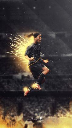 Messi Vs Ronaldo, Ronaldo Football, Messi Soccer, Goat Football, Football Love, Football Art, Best Football Players, Soccer Players, Ronaldinho Wallpapers