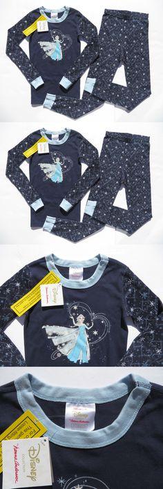 Sleepwear 99735: Hanna Andersson 120 130 140 Girls Pajamas Long ...