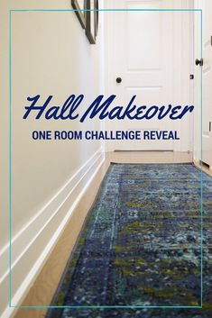 Hall Makeover and a Colorful Gallery Wall: One Room Challenge Reveal! • The Vanderveen House