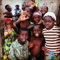 People in Benin,(photo from Joaquin Peñalver)
