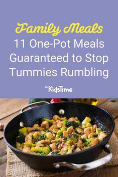 11 One Pot Meals Guaranteed to Stop Tummies Rumbling One Pot Meals, Nutritious Meals, Family Meals, Dinners, Favorite Recipes, Beef, Food, Dinner Parties, Essen