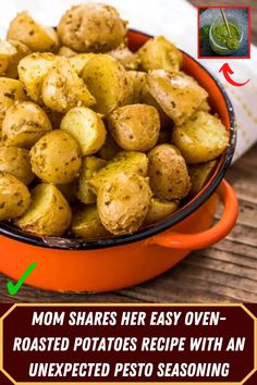 Mom Shares Her Easy Oven-Roasted Potatoes Recipe With An Unexpected Pesto Seasoning